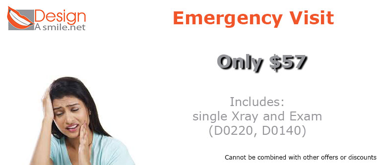 Emergency Dental Visit Coupon in South Miami Coral Gables and Kendall, FL